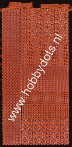 Hobbydots - Stickervel - Mirror Copper - Serie 4 (stdm04B)