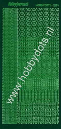 Hobbydots - Stickervel - Mirror Green - Serie 4 (stdm042)