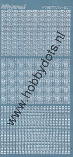 Hobbydots - Stickervel - Mirror Ice - Serie 7 (stdm075)