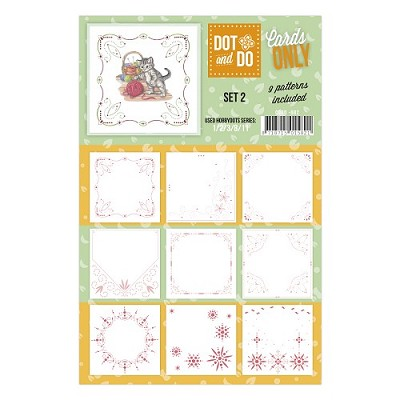 Hobbydots - Dot & Do - Cards Only - Oplegkaarten - Set 2