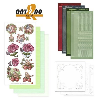 Hobbydots - Dot en Do Set - Floral / Bloemen - Dodo-002