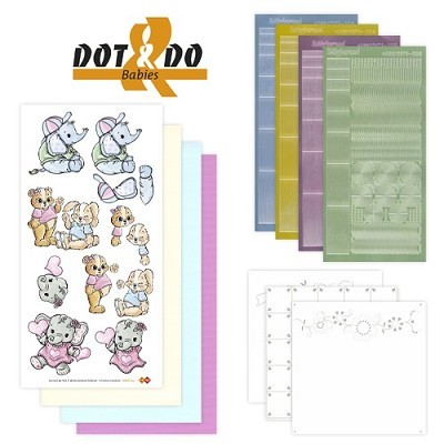 Hobbydots - Dot en Do Set 3 - Babies - Dodo-003