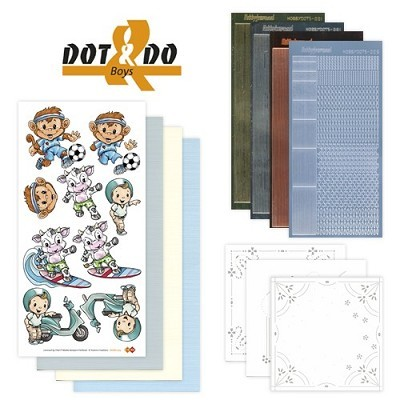 Hobbydots - Dot en Do Set - Boys - Dodo-005