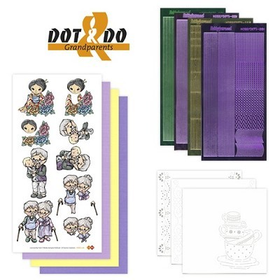 Hobbydots - Dot en Do Set - Grandparents - Dodo-006