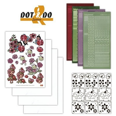 Hobbydots - Dot en Do Set - Summer - Dodo-008