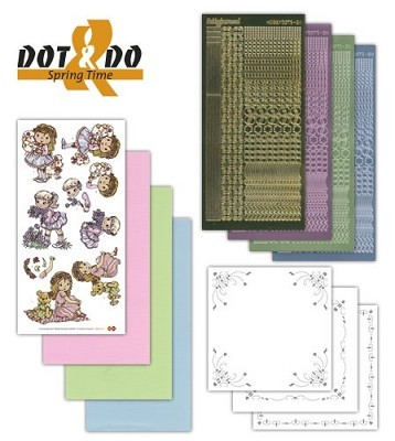 Hobbydots - Dot en Do Set - Springtime - Dodo-010