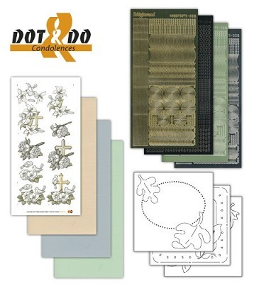 Hobbydots - Dot en Do Set - Condolences - Dodo-011A