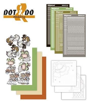 Hobbydots - Dot en Do Set - Wedding - Dodo-011B