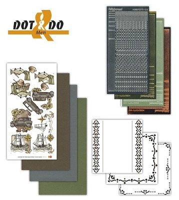 Hobbydots - Dot en Do Set - Men - Dodo-014