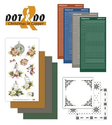 Hobbydots - Dot en Do Set - Christmas in Copper - Dodo-017