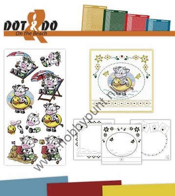 Hobbydots - Dot en Do Set - On the Beach - Dodo-018