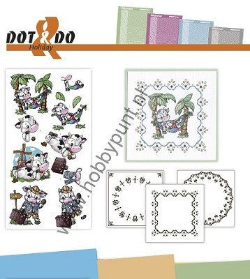 Hobbydots - Dot en Do Set - Holiday - Dodo-019