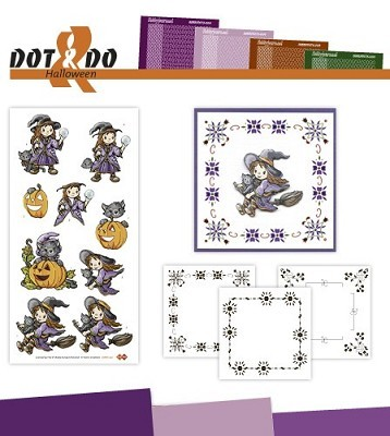 Hobbydots - Dot en Do Set - Halloween - Dodo-020