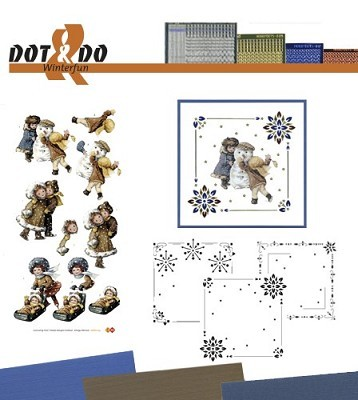 Hobbydots - Dot en Do Set - Amy Design Winterfun - Dodo-023