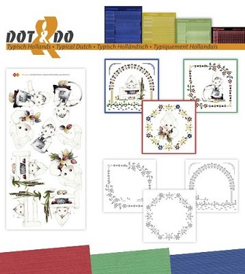 Hobbydots - Dot en Do Set - Marieke - Typisch Hollands - Dodo034