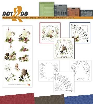 Hobbydots - Dot en Do Set - Marieke - Kerst - Dodo035