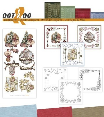Hobbydots - Dot en Do Set - Amy Design - Kerstfiguren - Dodo-040