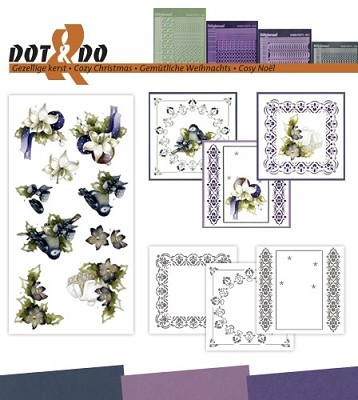 Hobbydots - Dot en Do Set 43 - Marieke - Kerst - Dodo-043