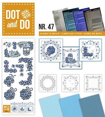 Hobbydots - Dot en Do Set 47 - Cozy Christmas - Dodo047