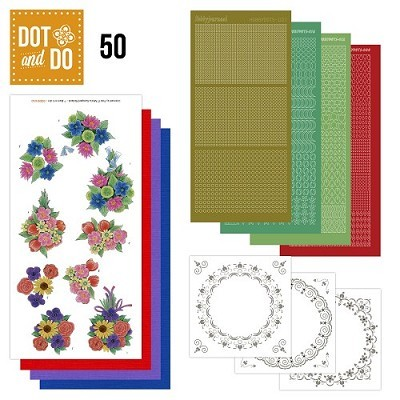 Hobbydots - Dot en Do Set - Boeketten - Dodo050