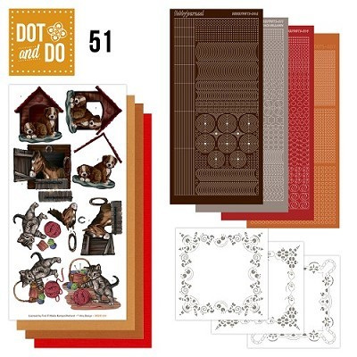 Hobbydots - Dot en Do Set 51 - Amy Design - Animals - Dodo-051