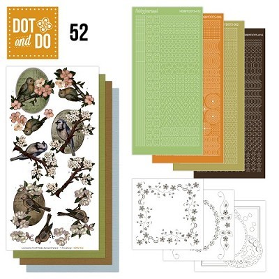 Hobbydots - Dot en Do Set - Amy Design - Birds - Dodo-052