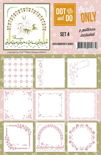 Hobbydots - Dot & Do - Cards Only - Oplegkaarten - Set 4