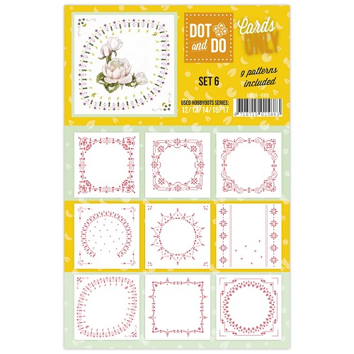 Hobbydots - Dot & Do - Cards Only - Oplegkaarten - Set 6
