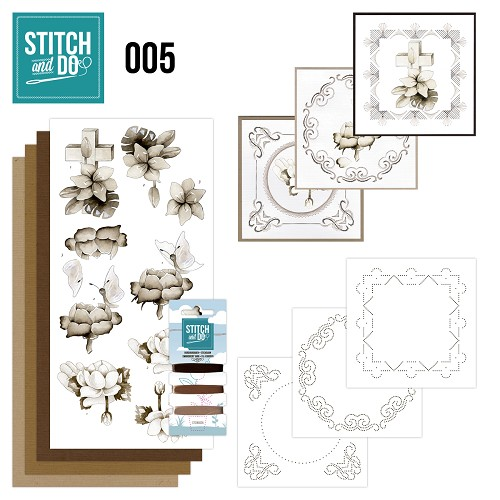 Stitch en Do Set 5 - Precious Marieke - Condoleance - STDO005