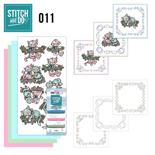 Stitch en Do Set 11 - Yvonne Creations - Katjes - STDO011