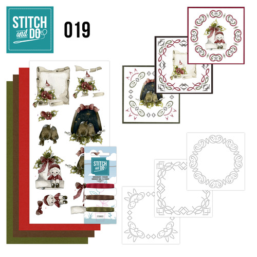 Stitch en Do Set 19 - Precious Marieke - Snowy Detail - STDO019