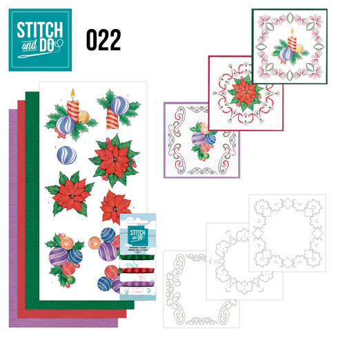 Stitch en Do Set 22 - Jeanine`s Art - Christmas - STDO022