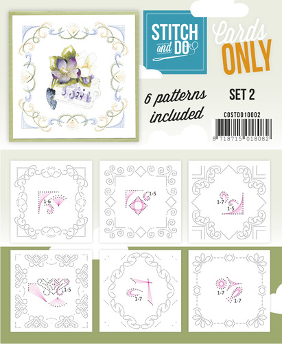 Stitch & Do - Cards Only - Set 2 - COSTDO10002