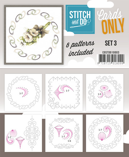 Stitch & Do - Cards Only - Set 3 - COSTDO10003