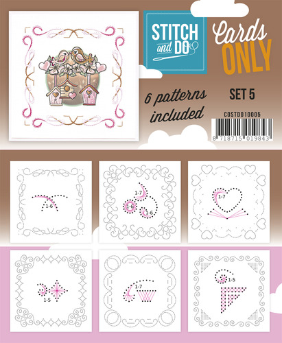 Stitch & Do - Cards Only - Set 5 - COSTDO10005