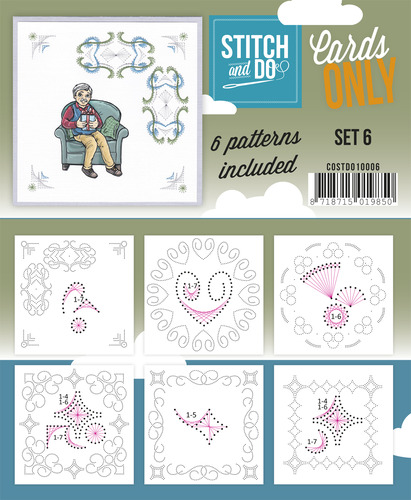 Stitch & Do - Cards Only - Set 6 - COSTDO10006
