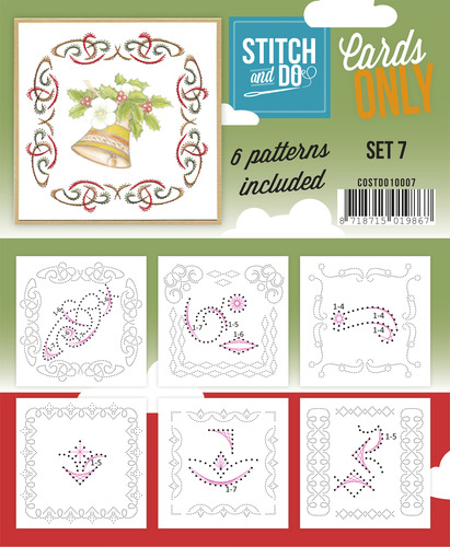 Stitch & Do - Cards Only - Set 7 - COSTDO10007