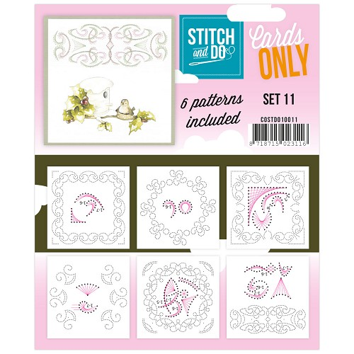 Stitch & Do - Cards Only - Set 11 - COSTDO10011