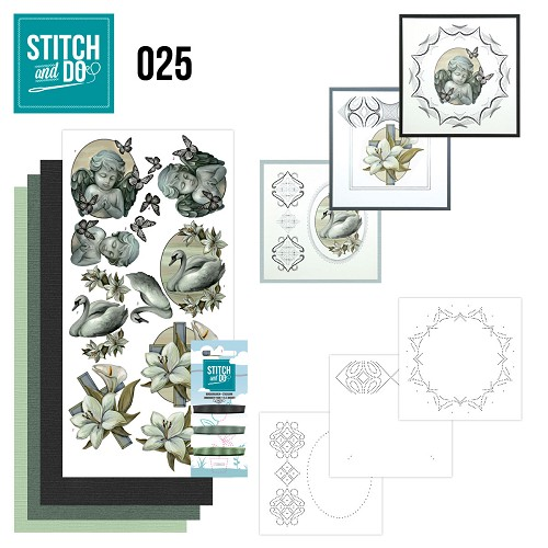 Stitch and Do 25 - Condoleance - Amy Design - Stdo025