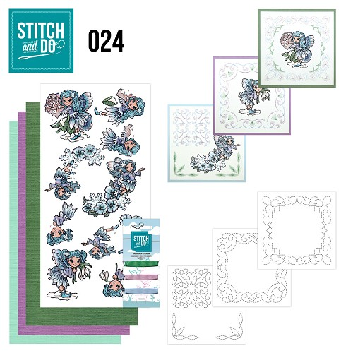 Stitch and Do 24 - Fairies - Yvonne Creations - Stdo024