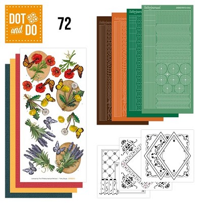 Hobbydots - Dot en Do Set 72 - Amy Design - Wild Flowers - Dodo-072