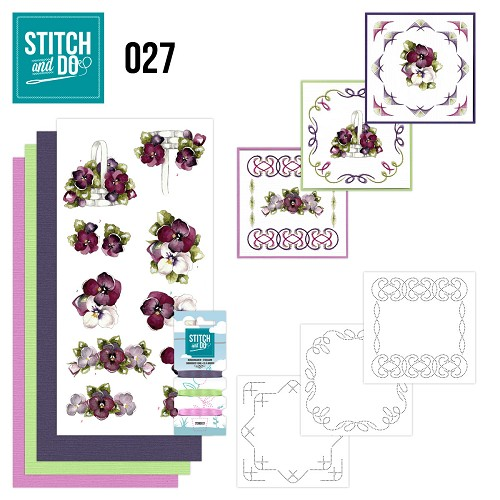 Stitch and Do 27 - Flowers - Precious Marieke - Stdo027