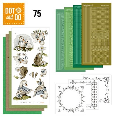 Hobbydots - Dot and Do 75 - Spring Animals - Precious Marieke - Dodo075