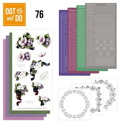 Hobbydots - Dot and Do 76 - Flowers - Precious Marieke - Dodo076