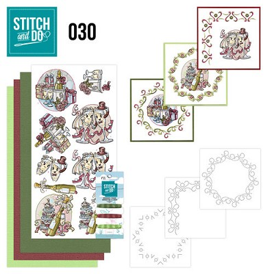 Stitch and Do 30 - Celebrations - Yvonne Creations