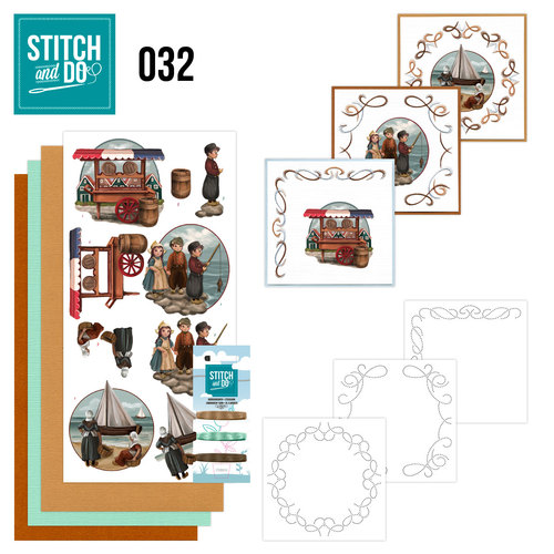 Stitch and Do Set 32 - Oud Hollands - Amy Design - Stdo032