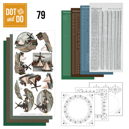 Hobbydots - Dot and Do 79 - Oud Hollands - Amy Design - Dodo079
