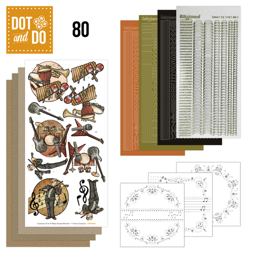 Hobbydots - Dot and Do 80 - Muziek - Yvonne Creations - Dodo080