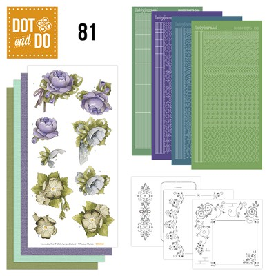 Hobbydots - Dot and Do 81 - Floral Corner - Precious Marieke - Dodo081