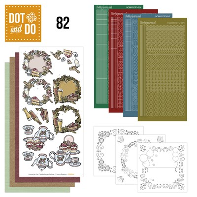 Hobbydots - Dot and Do 82 - Jubileum - Yvonne Creations - Dodo082